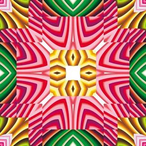 Flowery Incan Mosaics 3