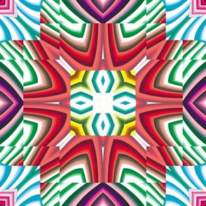Flowery Incan Mosaics 4