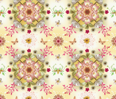 Mandala fabric by milliondollardesign on Spoonflower - custom fabric