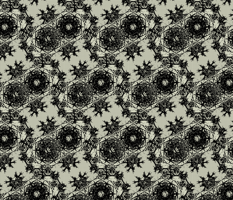mayhemalloverdarker2 fabric by sydama on Spoonflower - custom fabric