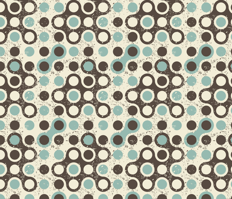 abstract retro seamless pattern fabric by anastasiia-ku on Spoonflower - custom fabric
