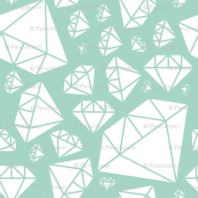 All mint diamonds