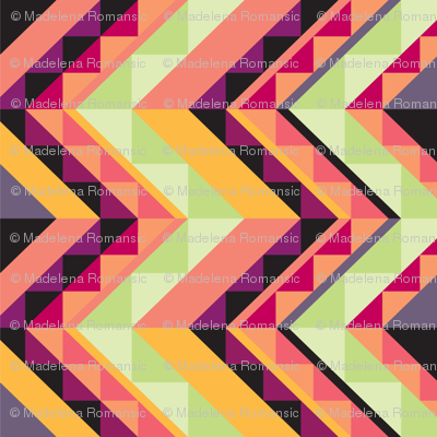 Chevron Cheater Quilt