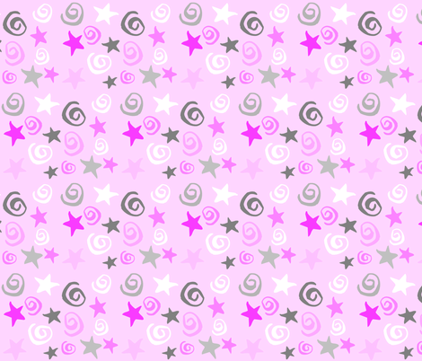 ZIGGY STAR DREAM fabric by bluevelvet on Spoonflower - custom fabric