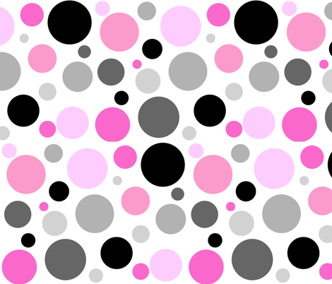 ZIGGY DOTS fabric by bluevelvet on Spoonflower - custom fabric