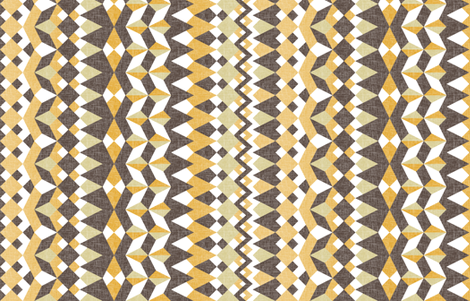 A Desert Mirage - Vertical Stripes fabric by rhondadesigns on Spoonflower - custom fabric