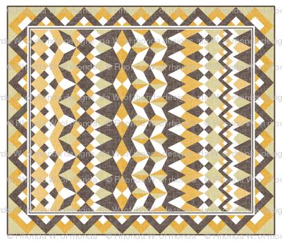A Desert Mirage - quilt
