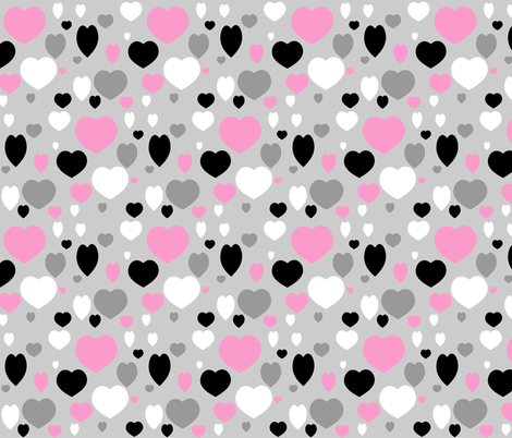 ZIGGY LOVE fabric by bluevelvet on Spoonflower - custom fabric