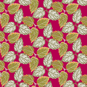 3 leaves -dpink