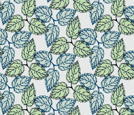 plant-olive fabric by jazzieotextiledesign_ on Spoonflower - custom fabric