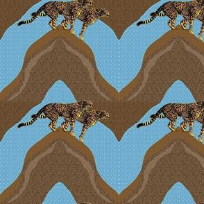 ChevronCheetah quilt