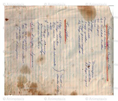 Recipe Tea Towel, Cream Pie, Truffles, Rice Krispie Squares