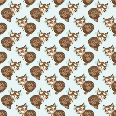 Bobbit_02 fabric by woodmouse&bobbit on Spoonflower - custom fabric