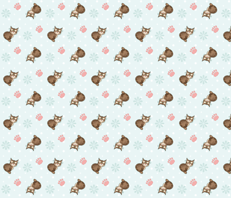 Bobbit_03 fabric by woodmouse&bobbit on Spoonflower - custom fabric