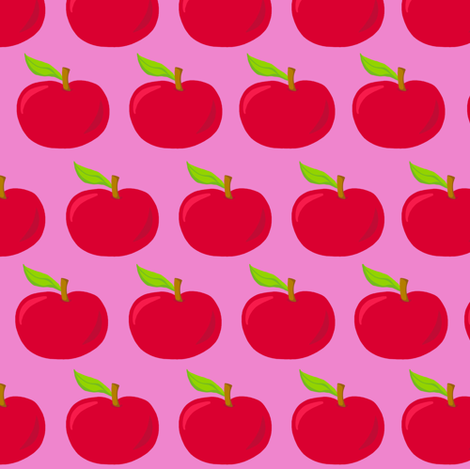 Autumn Delights - Apples - Fab Fruits fabric by uzumakijo on Spoonflower - custom fabric