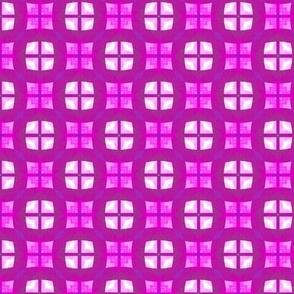 Pink Retro funk squares