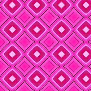Pink retro funk