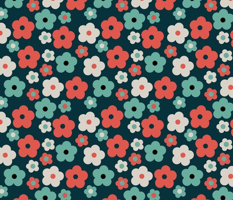 Retro_flower_navy_shop_preview