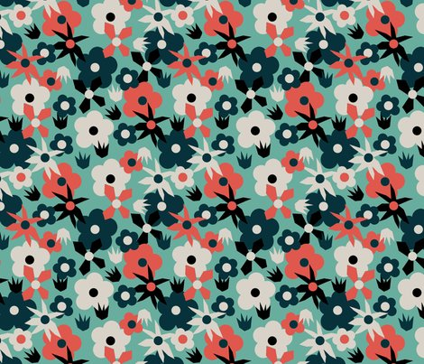 Retro_mixed_flower_blue_shop_preview