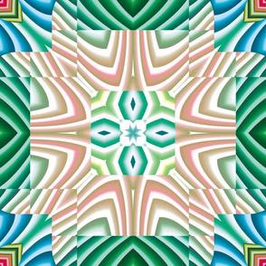 Flowery Incan Tiles 7