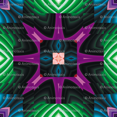 Flowery Incan Tiles 8
