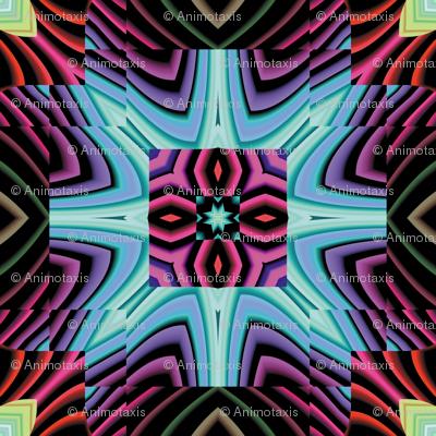 Flowery Incan Tiles 9