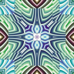 Flowery Incan Tiles 10