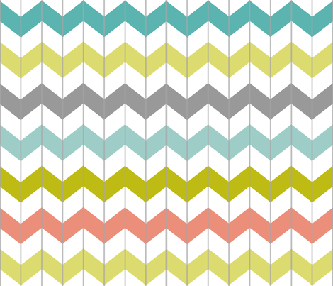 Chevron Juicy fabric by smitche on Spoonflower - custom fabric