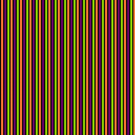 Halloween Stripes fabric by risarocksit on Spoonflower - custom fabric