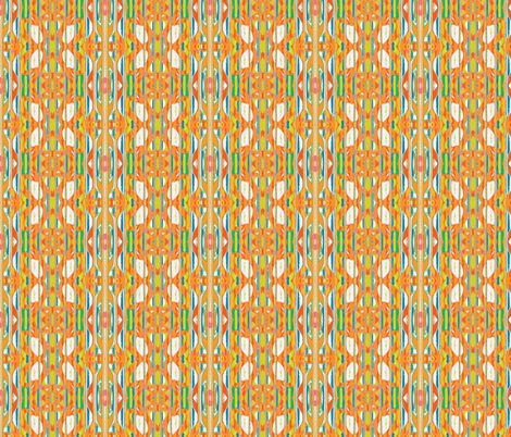 Fiesta on the Beach fabric by susaninparis on Spoonflower - custom fabric