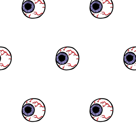 EYEBALLS fabric by bluevelvet on Spoonflower - custom fabric