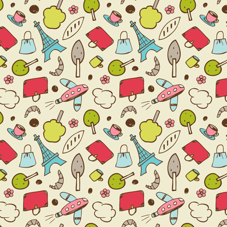 Sight Seeing fabric by heatherdutton on Spoonflower - custom fabric