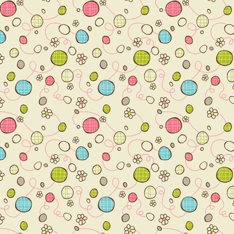 Petit Fours fabric by heatherdutton on Spoonflower - custom fabric