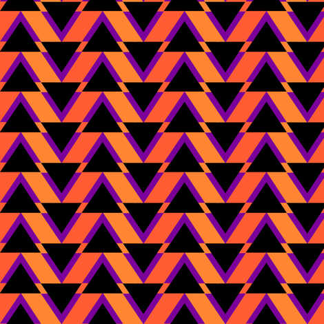 triangles fabric by moonbeam on Spoonflower - custom fabric