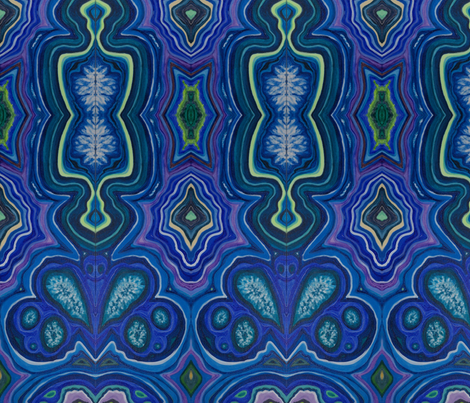 PEACE AGATE fabric by thetinkerswagon on Spoonflower - custom fabric