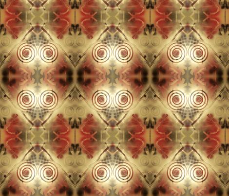 ROUND AND ROUND fabric by madislandartist on Spoonflower - custom fabric