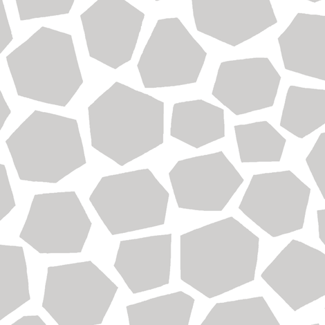 Geo Giraffe (neutral) fabric by leanne on Spoonflower - custom fabric