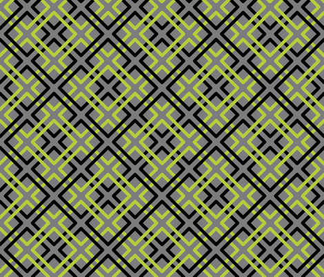 Modern Weave in Gray Background fabric by fridabarlow on Spoonflower - custom fabric
