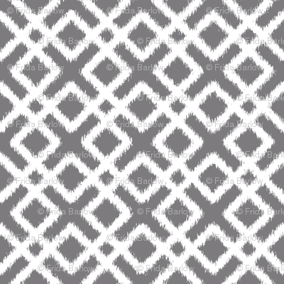 Weave Ikat in Gray