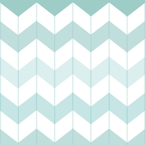 Chevron Ombre Teal
