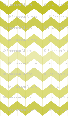 Chevron Ombre Citron