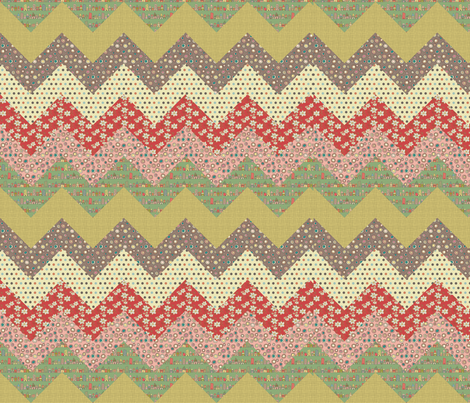 Chevron fabric by catru on Spoonflower - custom fabric