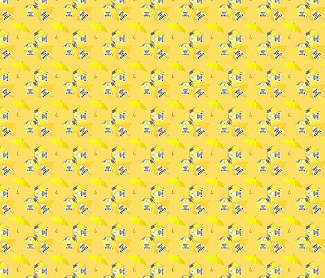 VotesForWomenGold fabric by materialculture on Spoonflower - custom fabric