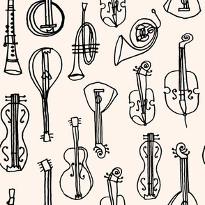 Music Instruments - Champagne