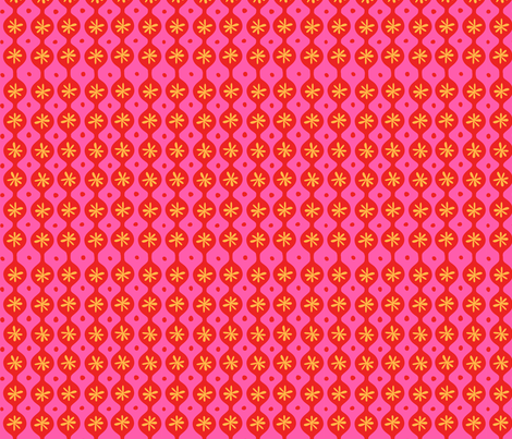 Flower Power fabric by bzbdesigner on Spoonflower - custom fabric