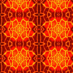 Giraffe Skin - Orange