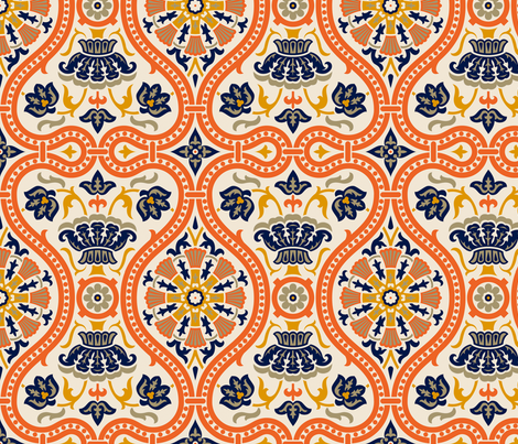 Victorian 1 fabric by muhlenkott on Spoonflower - custom fabric