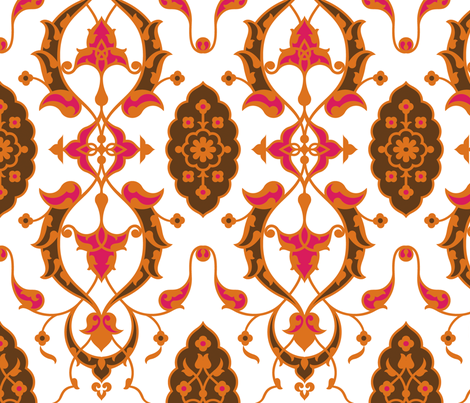 Serpentine 861 fabric by muhlenkott on Spoonflower - custom fabric
