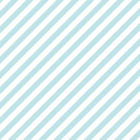 Diagonal Stripe Aqua