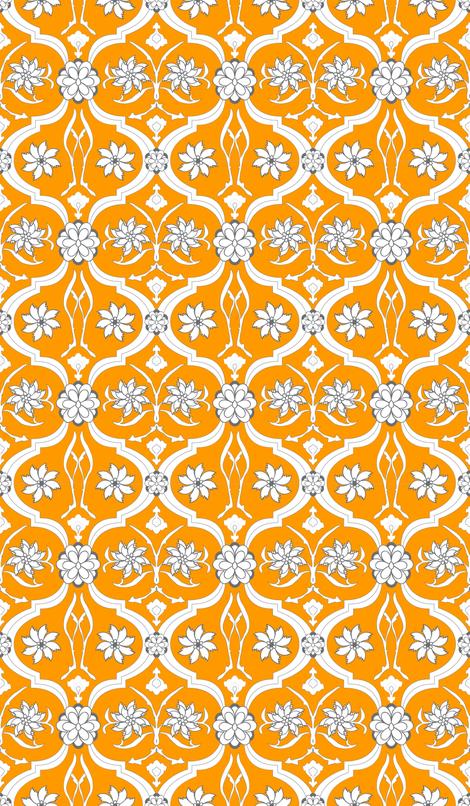 blood splattered uterus. fabric by breekerle on Spoonflower - custom fabric